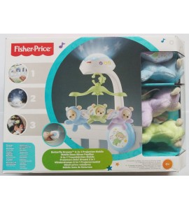 """Fisher Price"" karuselė ""Butterfly Dreams 3-in-1 Projection Mobile"""