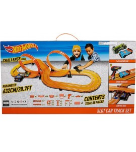 """Hot Wheels"" lenktynių trasa ""Slot Car Track Set"""