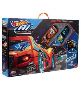 """Hot Wheels"" lenktynių trasa ""Ai-Intelligent Race System"""