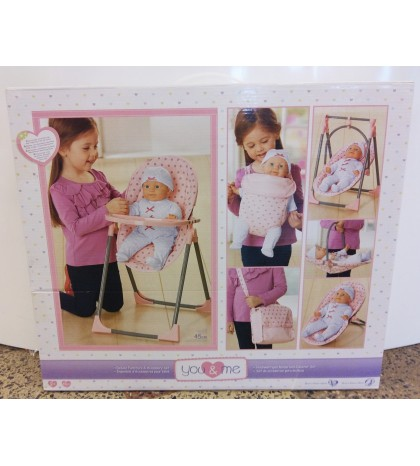 """""""You and Me"""" rinkinys lėlei """"Deluxe Furniture and Accessory Set"""""""