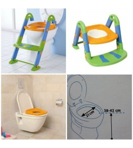 """KidsKit"" tualeto treneris vaikams ""Kids Seat Toilet Trainer"""