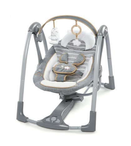 """Ingenuity supynės kūdikiams """"Swing'n'Go Portable Swing"""" Boutique Collection"""