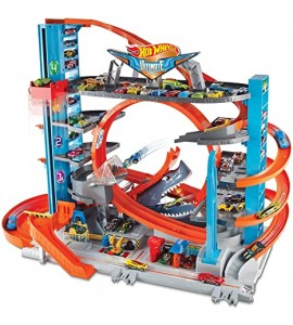 HOTWHEELS city HW ULTIMATE garažas-trasa