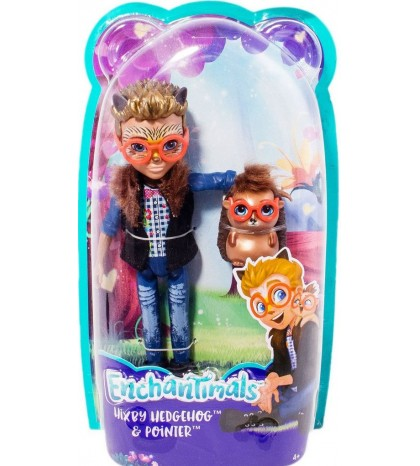 "EnchanTimals rinkinys ""Hixby Hedgehog and Pointer"""