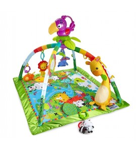 """Fisher Price lavinamasis kilimėlis """" Rainforest Music and Lights Deluxe Gym"""""""